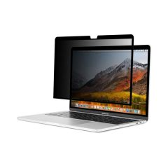 Moshi - Umbra Privacy Screen Protector - MacBook Pro/Air 13 - Clear/Grossy