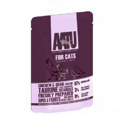 AATU 貓用主食濕食包- 雞+鵪鶉 85g aa-chickenquail85g
