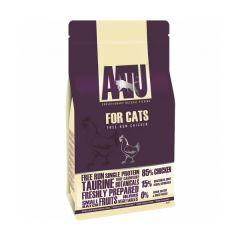 AATU 85/15 自然放養雞天然貓糧1kg / 3kg aa-Runchicken_all