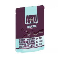 AATU 貓用主食濕食包- 三文+雞+蝦 85g aa-salmonchicken85g