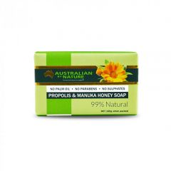 Australian by Nature Propolis Soap With Manuka Honey 8+ (MGO 200) 100g ABN00600