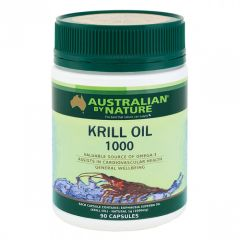 Australian by Nature Krill Oil 1000mg 90 Capsules ABN00623