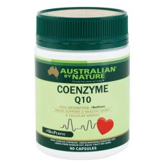 Australian by Nature Coenzyme Q10 (+ BioPerine) 150mg 90 capsules ABN00629