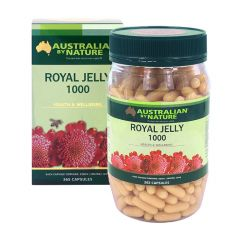 Australian by Nature Royal Jelly 1000mg 365 Capsules ABN00658