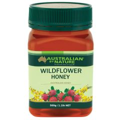 Australian By Nature Wildflower Honey 500g    ABN00661