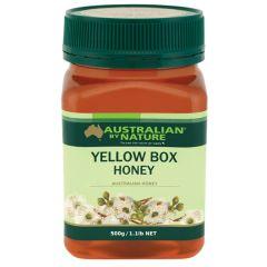 Australian By Nature Yellow Box Honey 500g ABN00663