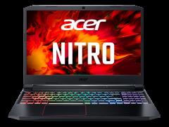 "Acer Nitro 5 電競筆記型電腦 /Intel Core i5-10300H/15.6"" FHD 144Hz/16GB*/256GB SSD + 1TB/GTX1650Ti/Win 10 家用版 - 黑色 (AN515-55-59QK)"