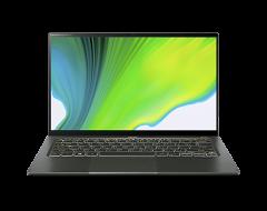 "Acer Swift 5 14"" 筆記型電腦 / Intel Core i7-1165G7 / FHD Touch / 16GB / 1TB SSD / Win 10 家用版 - 綠色 (SF514-55TA-79EQ)"