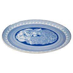Faux Australia Series Limited Edition - Lucas Grogan oval platter AE-AS-LG-PLATTER