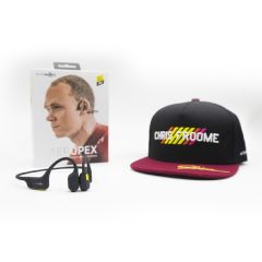 AfterShokz Aeropex AS800 Open-Ear Wireless Bone Conduction Bluetooth Headphones (Tour De France Edition 2020) AeropexAS800_set