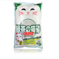 AK810GT100 AKANE - Green Tea Paper Cat Litter