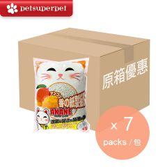 AKANE -【Full Case】Mango Paper Cat Litter (7 Packs) AKMAGC