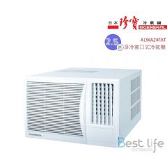 General 2.5HP Window Type Air Conditioner (Cooling Only Type) ALWA24FAT ALWA24FAT