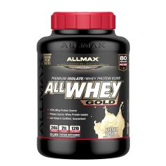 ALLMAX All Whey Gold 5lbs - French Vanilla AMXAWGBPFVAN5LBS