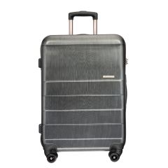 "LE MAURICE - Capsule Series 24"" Suitcase Brushed Chrome ABS0172-20-D60200"