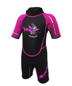 Aquasport 2.5mm 連身保暖衫 (粉紅色)