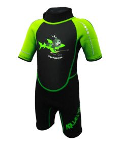 Aquasport 2.5mm 連身保暖衫 (綠色)
