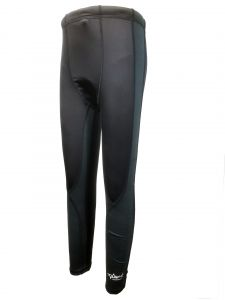 Aquasport Thermal Fleece Tights (Black / Grey)
