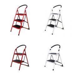 ASK_SL_SSPL_MO GLOBAL OUTLET - 家居防滑安全摺梯 - (兩級/三級可選)(兩色可選)