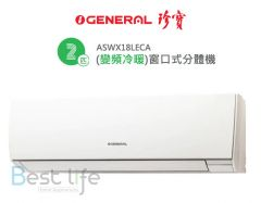 General - Inverter Window Split Type Air Conditioner - 2HP Cooling / Heating ASWX18LECA ASWX18LECA