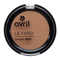 Avril - Eye Shadow Cuivre Irisé (Copper- coloured eyeshadow) avril00384