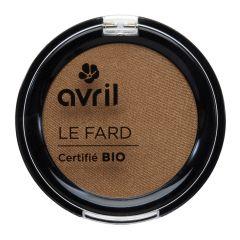 Avril - Eye shadow Noisette irisé(Organic brown iridescent eyeshadow) avril00606
