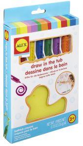 Alex Brands - Draw-in-the-Tub Bath Crayon 6's AX-639