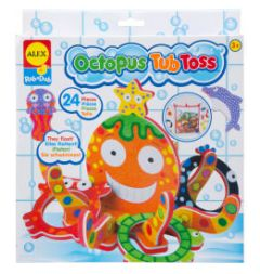 Alex Brands - Octopus Tub Toss AX-817N