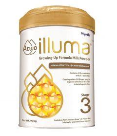 惠氏 - ILLUMA 親和人體A2 β-酪蛋白配方 3號幼兒成長配方奶粉 (900克) B-WY0011