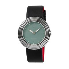 NOVE Streamliner Swiss Made Quartz Watch for Women (40mm Black Blue B003-01) B003-01