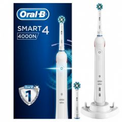 Oral-B - Smart 4000 充電電動牙刷 (白色)