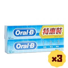 Oral-B - 123 200g Twin Pack x3 b01218_3