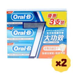 Oral-B - Pro-Health Enamel Protection Strong Mint (120g x3) x2 b01221_2