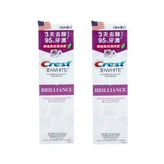 Crest - 3D White Brilliance (Mesmerizing Mint) 116g x2b01225_2
