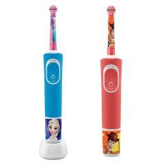 Oral-B - D100 兒童充電電動牙刷(魔雪奇緣 / 反斗奇兵)