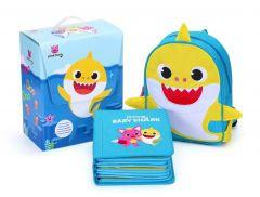 Pinkfong - Baby Shark 鯊魚家族音樂公仔套裝 - 25cm HH20190628A14