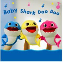 Pinkfong - Pinkfong Baby Shark 長毛絨 Puppet babysharksinging