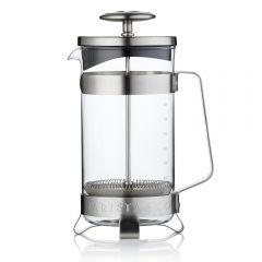 Barista & Co - Electric Steel French Coffee Press Plunge Pot (8 Cup / 3 Mug) BC002-005
