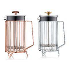 Barista & Co - 環形法式咖啡濾壓壺銅色 (2種顏色)