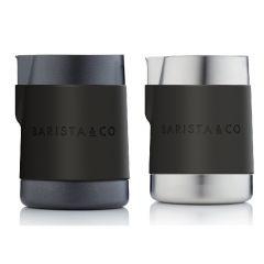 Barista & Co - Shorty不銹鋼專業牛奶壺(600ml) (2種顏色)