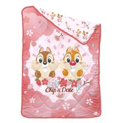 """Uji Bedding - 1900 thread count Bamboo Textile Characters Summer Quilt - Chip 'N' Dale - Single (60""""x90"""") BCSQ60-CD2101"""
