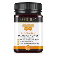 Berringa - 澳洲麥蘆卡蜂蜜 MGO220+ 特強抗菌 整體健康 (500克) BEBE005
