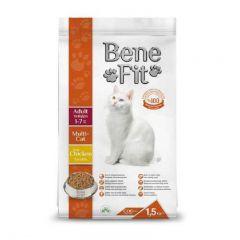 BeneFit. - 超值 土耳其 多貓配方 雞肉 成貓糧 (無基因改造成份) 1.5kg