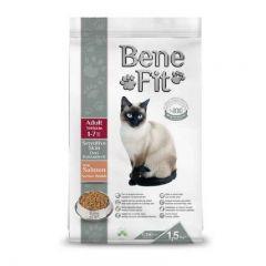 BeneFit. - 超值 土耳其 敏感皮膚配方 三文魚 成貓糧 (無基因改造成份) 1.5kg