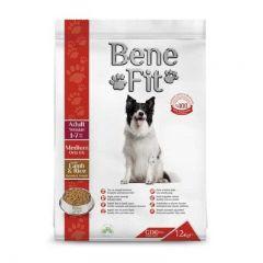 BeneFit. - 超值 土耳其 羊肉+米 中型成犬糧 (無基因改造成份) 12kg