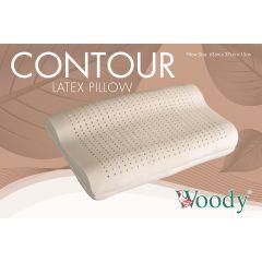 Woody - 馬來西亞 100% 全天然乳膠枕 弧型 BIGCP70