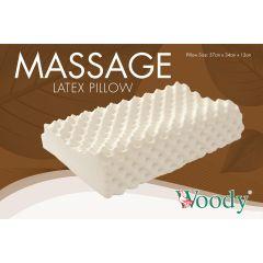 Woody - 馬來西亞 100% 全天然乳膠枕 按摩型 BIGMP64