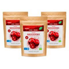 芬蘭百歐奇 - 超級漿果粉 - 紅色雜莓 150g 三包裝