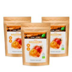 BIOKIA -  Organic Powdermix of Yellow Berries 150g  x 3packs BIYPM-150x3