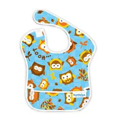 Bumkins - Waterproof SuperBib - Blue Owl BK240